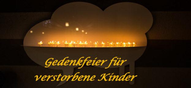 Gedenkgottesdienst Für Verstorbene Kinder Sternschnuppe