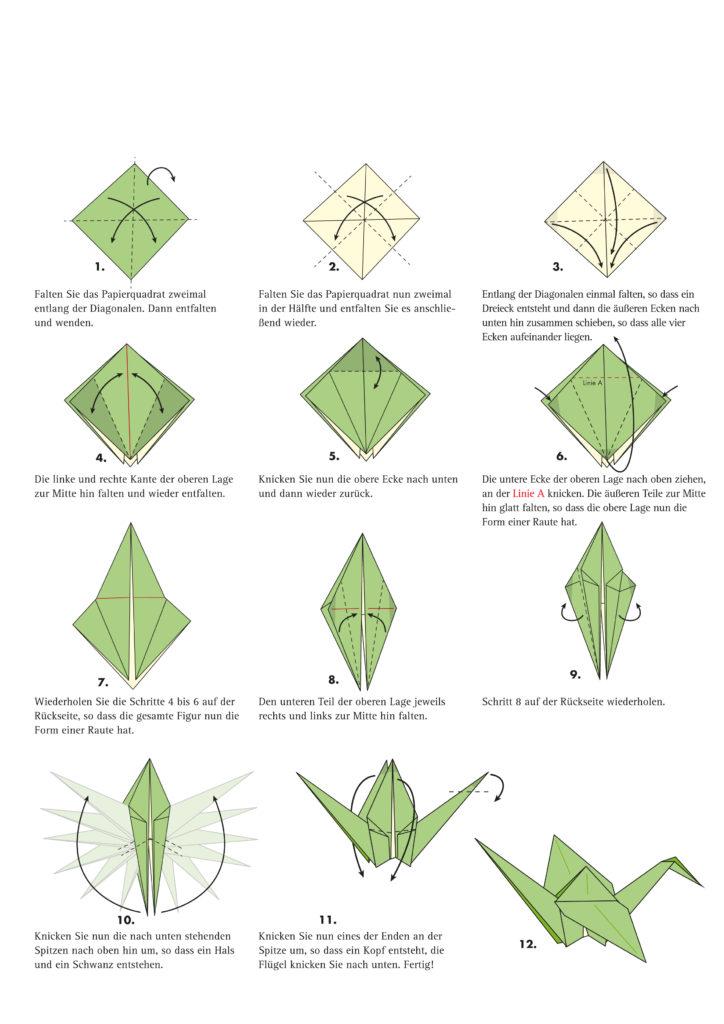 Origami Kraniche | Sternschnuppe Ortenau